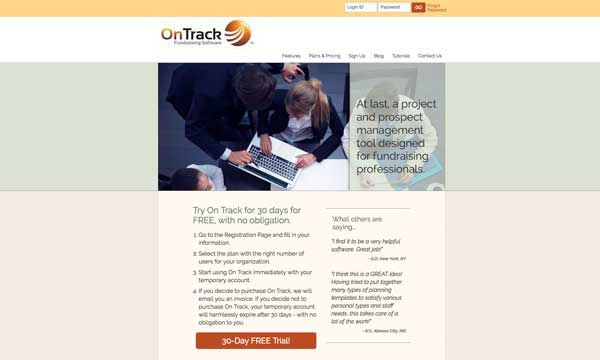 OnTrack Fundraising Software